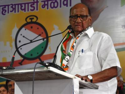 Sharad Pawar criticises PM Modi for his remarks on Rajiv Gandhi
