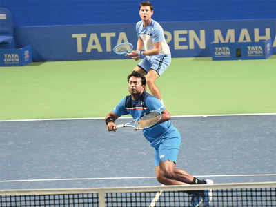 Maharashtra Open: Leander Paes and Matthew Ebden are hitting it off, already