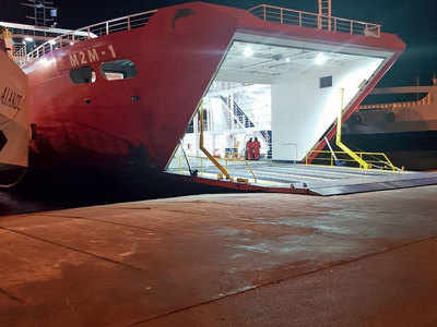 Mumbai-Mandwa Ro-Ro service to start by Feb-end, vessel can carry up to 500 passengers and 180 cars