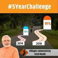 BJP's #5yearchallenge takes a dig at UPA, highlights NDA achievements