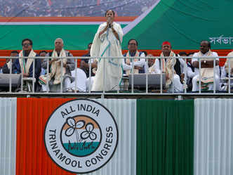 Live: Modi govt's time is over like expired medicine, says Mamata