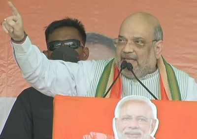 West Bengal assembly elections: Didi banned Durga puja & Saraswati puja for vote bank, says Amit Shah