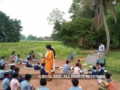 West Bengal: Government school teachers step out to teach rural and tribal students amid COVID-19 pandemic
