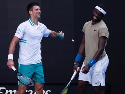 Australian Open: Frances Tiafoe puts up spirited fight, but Novak Djokovic progresses to third round