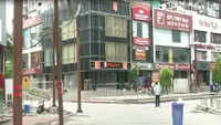 Streets, markets in Noida deserted amid lockdown