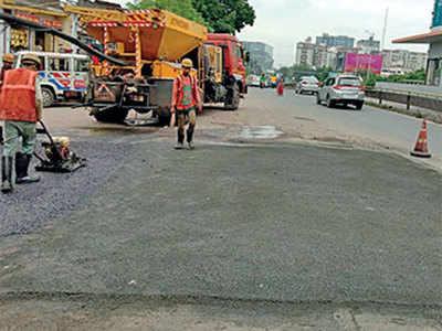 AMC begins road repair