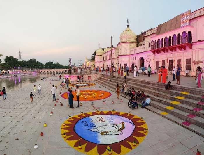 Ram Mandir news live: Ayodhya decks up for Ram Mandir bhumi pujan