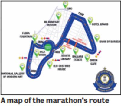 Come Sunday, witness the Mumbai Customs Half Marathon