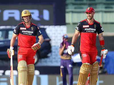 RCB vs KKR Highlights, IPL 2021: Maxwell, De Villiers guide Bangalore to third straight win of the season