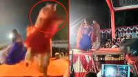 On cam: Folk singer injured in celebratory firing while performing on stage
