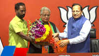 Former Congress leader Ammar Rizvi joins BJP in Delhi