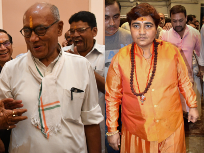 Sadhvi Pragya vs Digvijaya Singh: Will Hindu Terror card pay off for BJP in Bhopal ?