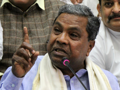 Only filling up three vacant posts: Siddaramaiah on cabinet reshuffle
