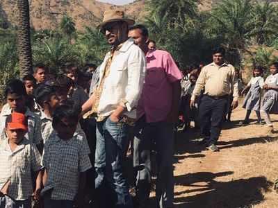When Irrfan Khan met school children at his farmhouse