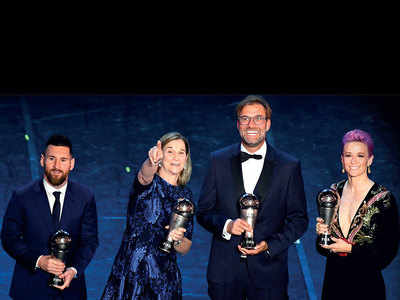 Lionel Messi wins FIFA Men's Best Player award, beats Cristiano Ronaldo