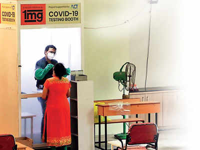 PMC centres reduce number of daily tests
