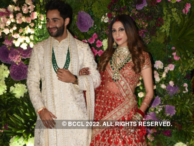 In photos: CM Uddhav Thackeray, Nita Ambani, Amitabh Bachchan, Anil Ambani among others attend the star-studded wedding reception of Armaan Jain and Anissa Malhotra