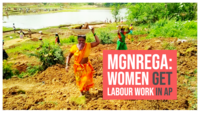 Women turn daily labourers under MGNREGA scheme in Andhra Pradesh