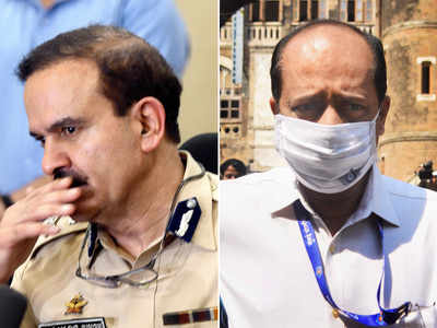 Sachin Vaze was posted in CIU after instructions of Param Bir Singh: Mumbai Police report