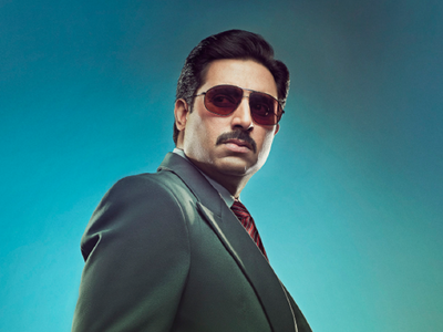 The Big Bull: Abhishek Bachchan looks intense in the new poster; film to release on October 23