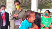 Sonu Sood was spotted at the airport as he helped migrants fly back home
