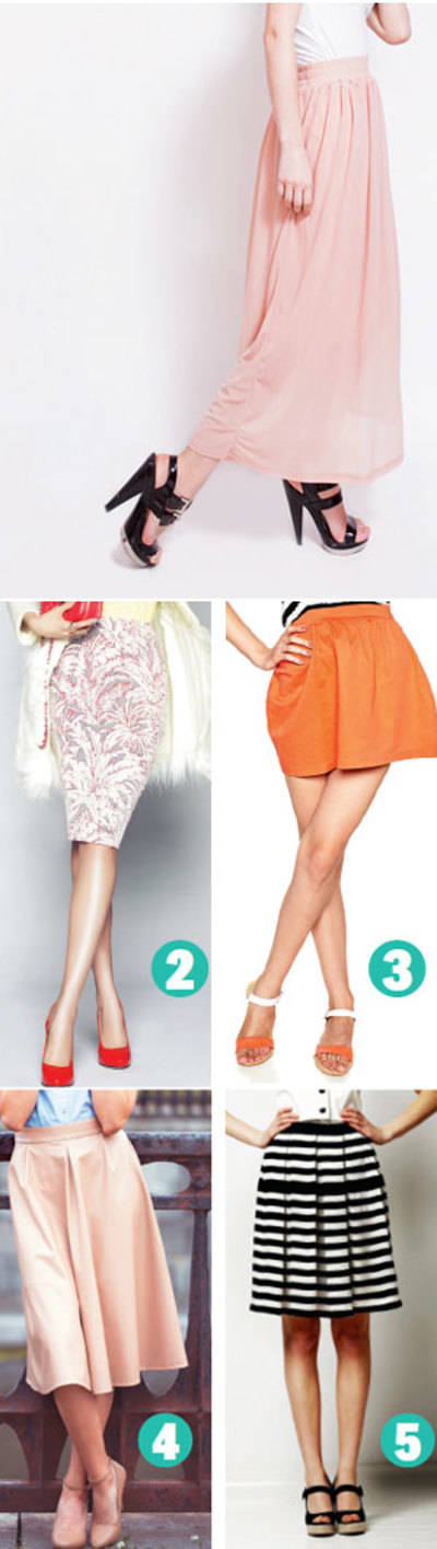 Types of skirts you should have in your wardrobe