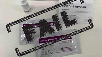 Fake alert: Photo of Covid-19 test kits shared as its vaccine