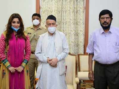 Payal Ghosh meets Maharashtra governor; says she needs Y security as she fears for her life