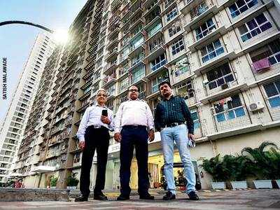 Want NOC to sell flat? Donate to the 'brotherhood' trust