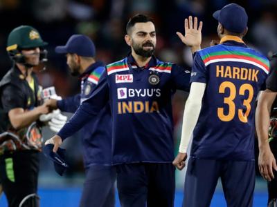 India beats Australia by 11 runs in first Twenty20 match