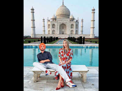 Diljit Dosanjh wants to take Ivanka Trump to Ludhiana after their trip to the Taj Mahal