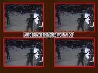 Thane: Auto driver thrashes woman cop
