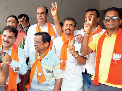 BJP sweeps JMC election