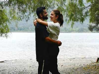 Virat Kohli shares a breathtaking beach picture with Anushka Sharma