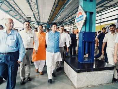 Mumbai: Piyush Goyal inaugurates 11 FOBs, Wi-Fi facilities