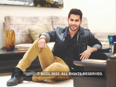 Guess who is Varun Dhawan busy with on his free day