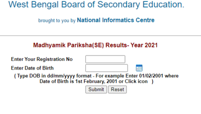 WB Madhyamik Result 2021 Highlights: WBBSE 10th result link available at wbresults.nic.in, here's direct link