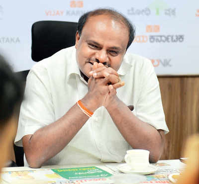 Tired of satire,  Chief Minister H D Kumaraswamy wants law to ban it