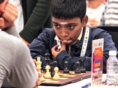 R Praggnanandhaa slips to second spot in world youth chess