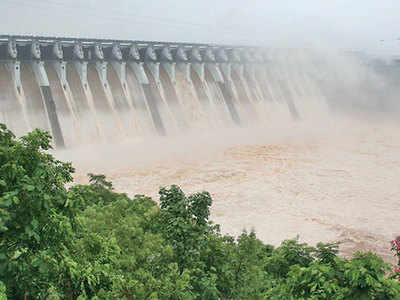 Water in Narmada dam crosses 137-m mark