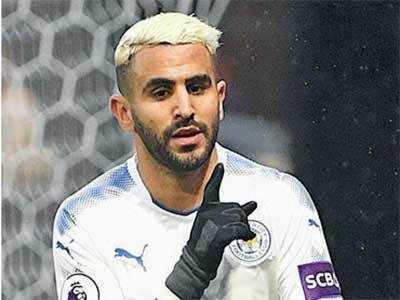 Mahrez joins Man city