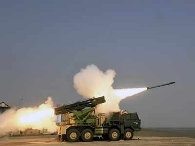 India successfully test fires advanced version of Pinaka rocket