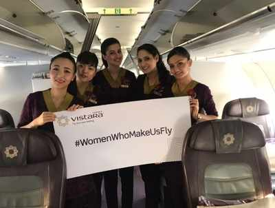 International Women's Day: Airlines to operate all-women crew flights