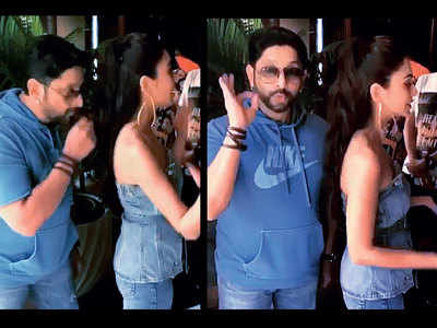 Arshad Warsi's hair and there