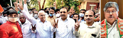 BJP-NCP clash kicks off teacher, graduate constituency polls