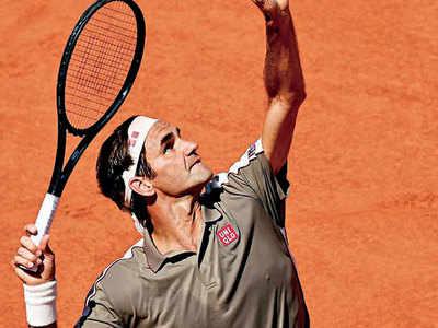 Roger Federer qualifies for quarterfinals at the Roland Garros