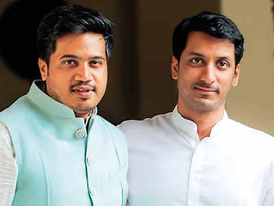 fa86e5faa6f Rohit Pawar bats for cousin Parth Pawar as campaign gets underway in Maval