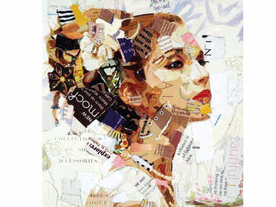 PLAN AHEAD: Try collage art