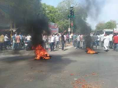 Bharat bandh turns violent in Gujarat, protesters resort to stone pelting, BRTS shut, bus services affected in Gujarat