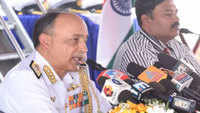 Indian Navy is confident about facing any challenge in the seas